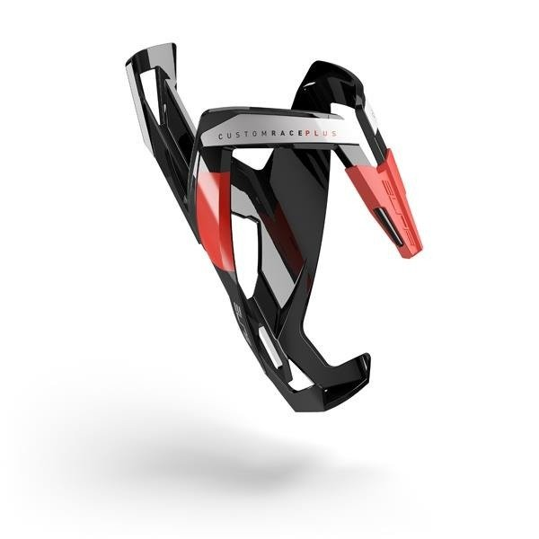 ELITE CUSTOM RACE PLUS - bottle cage (black and red)