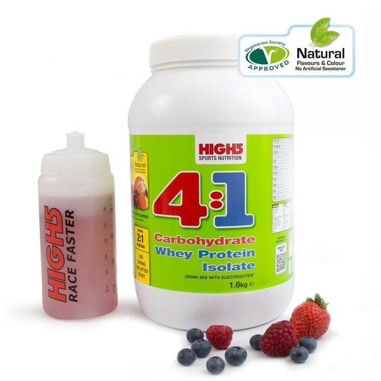 High5 4: 1 Energy Source 1.6kg - carbohydrate-protein beverage (summer fruit)