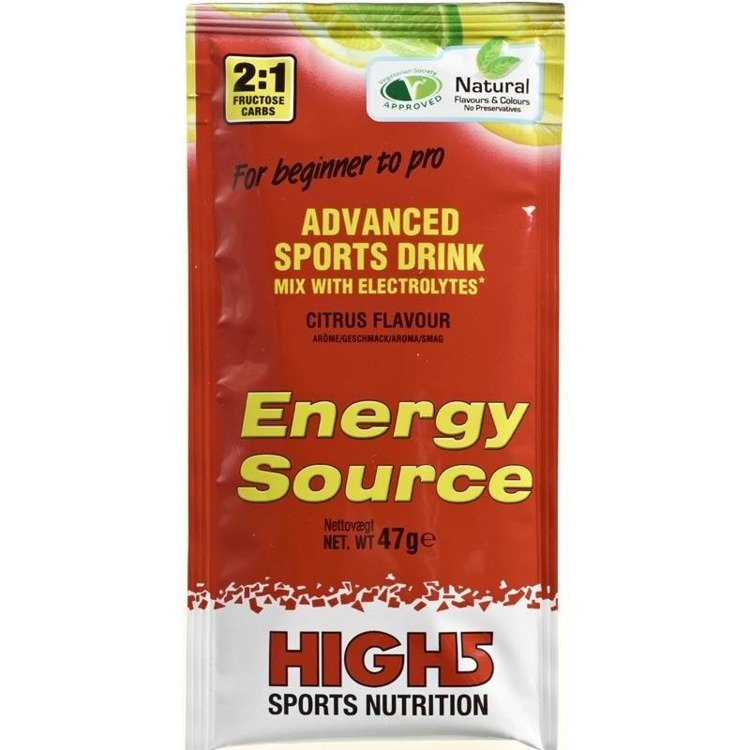 High5 Energy Source 47g - carbohydrate drink (citrus)