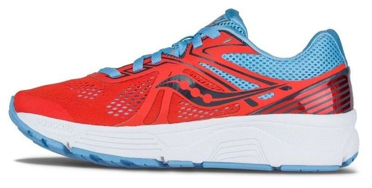 Saucony Swerve - women's shoes running gear (red)