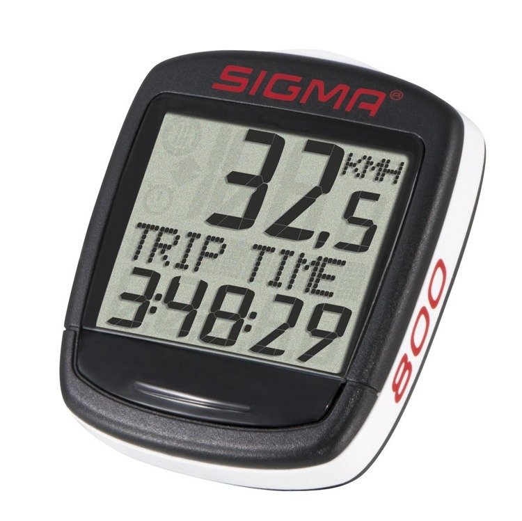 Sigma BASE 800 - bike computer wired (8 functions)