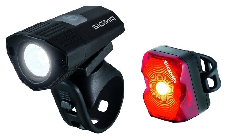 Sigma Buster 100 / Nugget Flush - a set of bicycle lamps