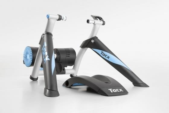 Tacx Genius Smart - Trainer + tray under the front wheel