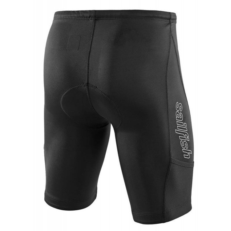 Team sailfish blk Men - Men's triathlon shorts